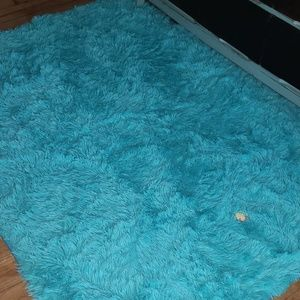 4x5.3ft Fluffy area rugs 1 left